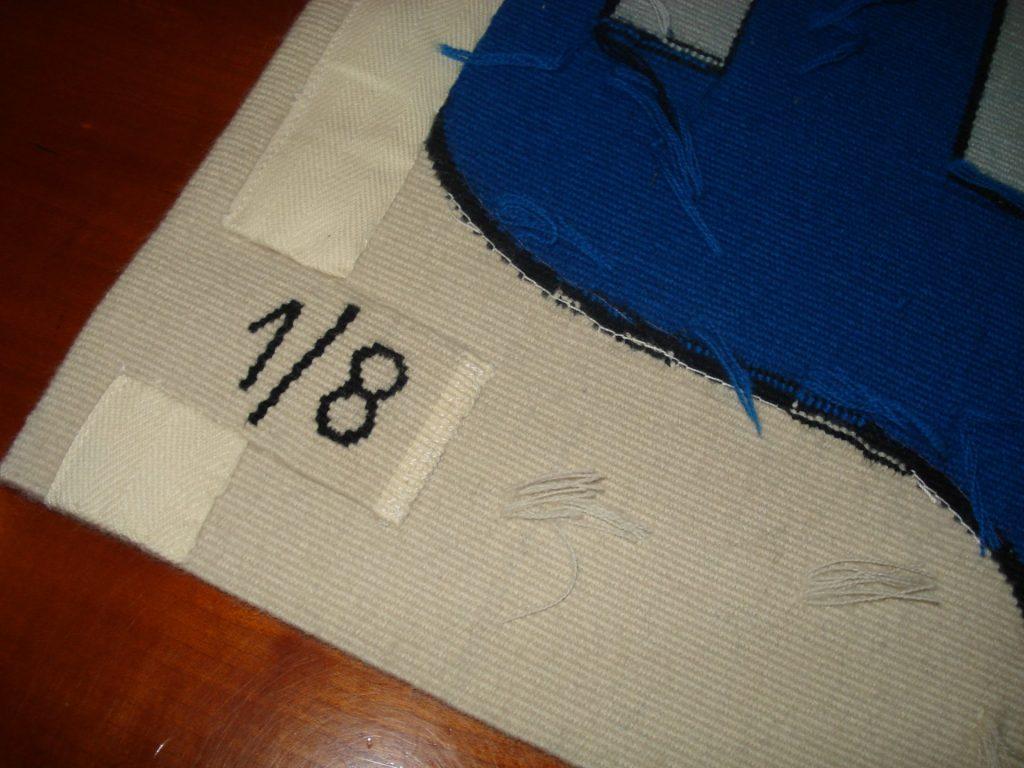 Tissage main à Aubusson - Oeuvre d'art numéroté