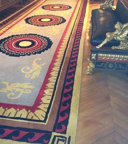 tapisserie royale expert en tapis d art d aubusson. Black Bedroom Furniture Sets. Home Design Ideas
