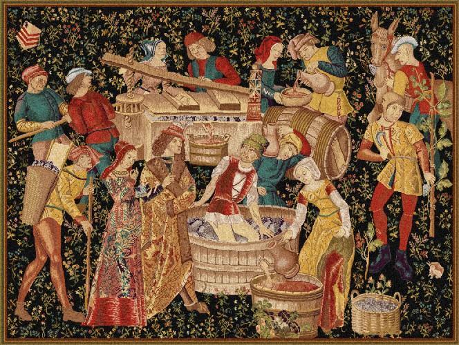 Les plus belles vendanges du XVème siècle